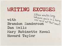 Writing Excuses banner